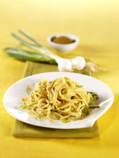 Spaghetti Vegani con Cipollotti