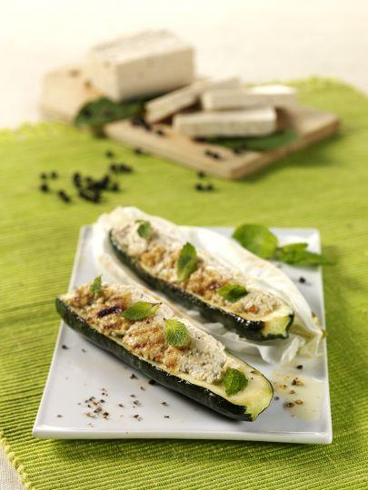 Zucchine Ripiene Vegetariane al Cartoccio