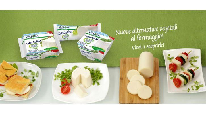 Le alternative al formaggio 100% vegetali, 100% Valsoia