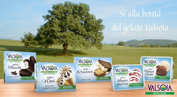 I gelati Valsoia rinnovano la grafica per comunicare tutta la bontà