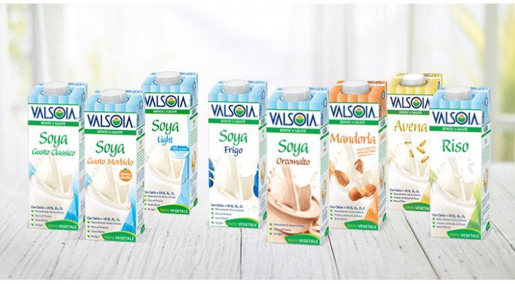 Soia, Mandorla, Avena, Riso: con Valsoia, bevi ogni giorno la bontà 100% vegetale