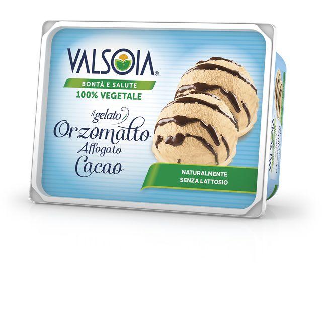 Gelato Orzomalto Affogato Cacao