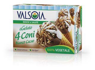 Ice Cream Cones Plain and Cocoa