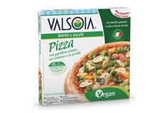 Pizza und vegane Gerichte