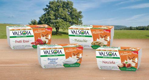 Valsoia presenta la novità della primavera: l'alternativa vegetale allo yogurt a base di mandorla