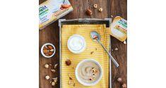 Bontà e Salute sempre più insieme in questa linea di alternative vegetali allo yogurt a base mandorla