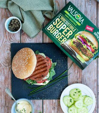 Valsoia Super Burger - pochi e semplici ingredienti
