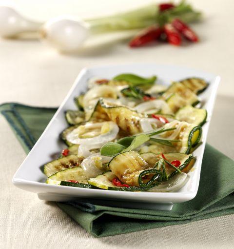 Carpione di zucchine