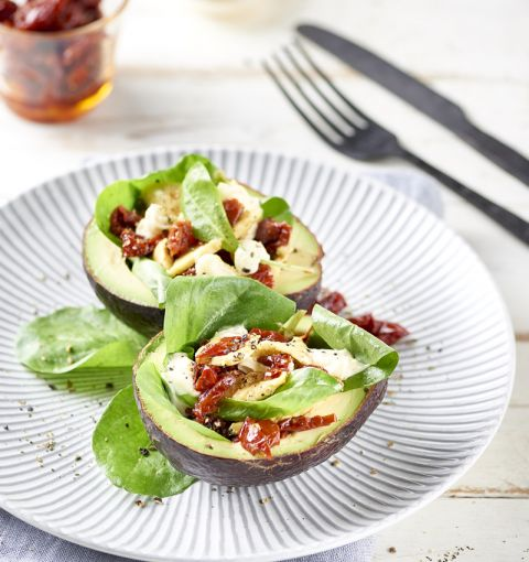 Insalata di Avocado Vegana