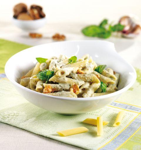 Penne Vegane al Pesto di Tofu
