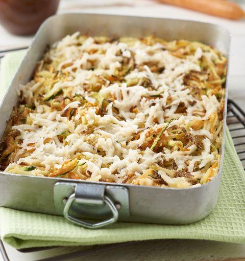Carote-Patate-Zucchine Julienne al Forno