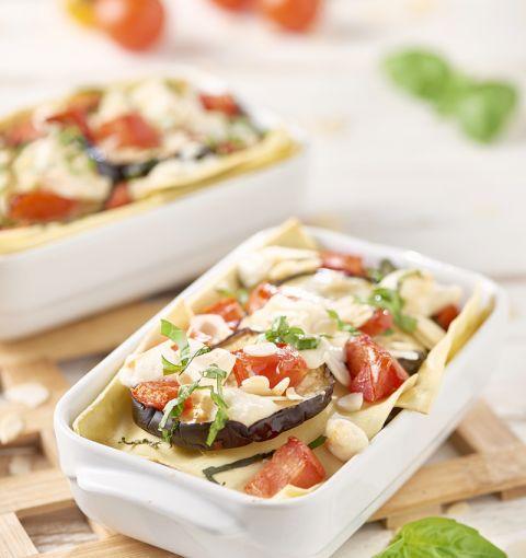 Lasagne Vegetariane alle Melanzane