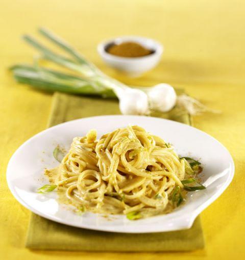 Spaghetti con cipollotti