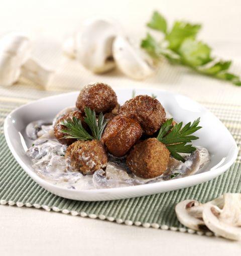 Polpette Vegetariane ai Funghi