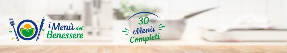 I menu del benessere 30 menu completi